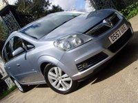 2008 VAUXHALL ZAFIRA 1.8 DESIGN 16V 5d 140 BHP £4299.00