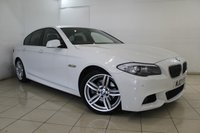 2013 BMW 5 SERIES  520D M SPORT 4DR AUTOMATIC 181 BHP £19979.00