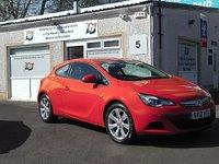 2012 VAUXHALL ASTRA 1.4 GTC SPORT S/S 3d 138 BHP £7500.00