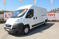 USED 2013 13 PEUGEOT BOXER 2.2 HDI 335 L3H2 PROFESSIONAL  130 BHP WARRANTED MILEAGE..44K...