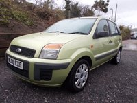 2006 FORD FUSION 1.4 STYLE CLIMATE 5d 68 BHP £1995.00
