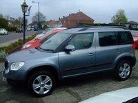 2012 SKODA YETI 2.0 SE PLUS TDI CR 5d 109 BHP £9999.00