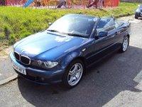 2005 BMW 3 SERIES 2.0 318CI SE 2d 141BHP CONVERTIBLE £2890.00