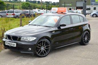 2006 BMW 1 SERIES 2.0 120D SPORT 5d 161 BHP £4250.00