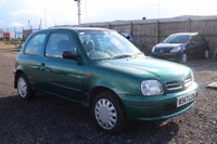 2000 NISSAN MICRA 1.0 16v Celebration Limited Edition 3dr £200.00