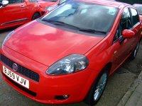 2009 FIAT GRANDE PUNTO 1.4 GP 5d 77 BHP £3499.00