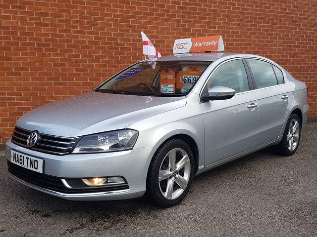 2011 61 VOLKSWAGEN PASSAT 2.0 SE TDI BLUEMOTION 4d 139 BHP £30 Road Tax