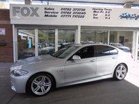 2011 BMW 5 SERIES 3.0 530D M SPORT 4d AUTO 242 BHP £16995.00