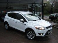 2011 FORD KUGA 2.0 TITANIUM TDCI 2WD 5d 138 BHP £11790.00