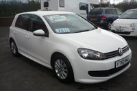 2011 VOLKSWAGEN GOLF 1.6 S TDI BLUEMOTION 5d 103 BHP £9450.00