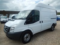 2010 FORD TRANSIT  T350 MWB HIGH ROOF 2.4 TDCi 115 BHP With AIR CON 61680 Miles £6995.00