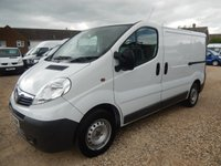 2009 VAUXHALL VIVARO 2.0 CDTI SWB 2900 REAR TAILGATE AND AIR CON 67252 MILES £5995.00