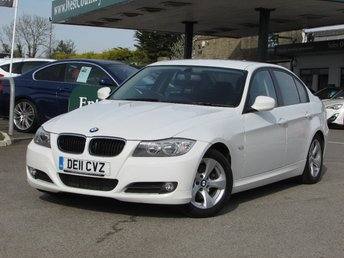 2011 BMW 3 SERIES 2.0 320D EFFICIENTDYNAMICS 4d 161 BHP £9000.00
