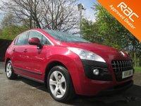 2011 PEUGEOT 3008 2.0 HDI SPORT 5d AUTO 163 BHP £7450.00