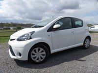 2013 TOYOTA AYGO 1.0 VVT-I MOVE MM 5d AUTO 68 BHP £6000.00