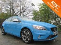 2014 VOLVO V40 2.0 D3 R-DESIGN NAV 5d AUTO 148 BHP £14750.00