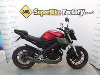2015 YAMAHA MT-125 MT 125 ABS  £3091.00
