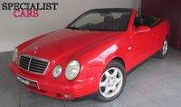 1999 MERCEDES-BENZ CLK 3.2 CLK320 SPORT 2d 215 BHP £2995.00