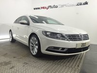 2013 VOLKSWAGEN CC 2.0 GT TDI BLUEMOTION TECHNOLOGY 4d 138 BHP £15995.00