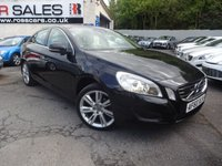 USED 2010 60 VOLVO S60 2.0 D3 SE 4d 161 BHP NATIONALLY PRICE CHECKED DAILY