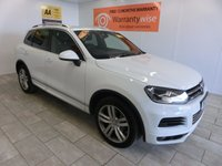 USED 2013 13 VOLKSWAGEN TOUAREG 3.0 V6 ALTITUDE TDI BLUEMOTION TECHNOLOGY 5d AUTO 242 BHP VERY GOOD VALUE FOR MONEY
