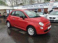 2010 FIAT 500 1.2 POP 3d 69 BHP £4995.00