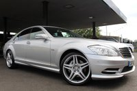 USED 2010 60 MERCEDES-BENZ S CLASS 3.0 S350 CDI BLUEEFFICIENCY AMG SPORT 235 BHP +SAT NAV+20