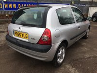 USED 2006 55 RENAULT CLIO 1.1 CAMPUS 8V 3d 58 BHP LOW INSURANCE & TAX
