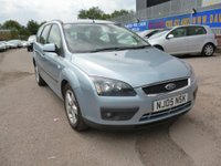 USED 2005 05 FORD FOCUS 1.6 ZETEC CLIMATE 5d 100 BHP 6 STAMPS IN SERVICE BOOK