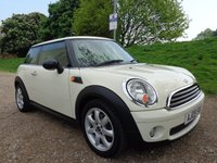 2009 MINI HATCH ONE 1.4 ONE 3d 94 BHP PEPPER WHITE £4450.00