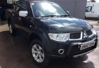 2011 MITSUBISHI L200 2.5 DI-D 4X4 BARBARIAN NO VAT PICK UP AUTO 175 BHP £10450.00