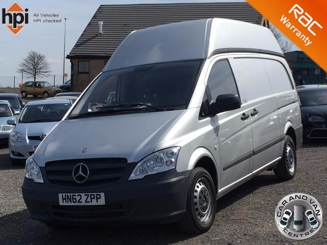 2013 62 MERCEDES-BENZ VITO 2.1 113 CDI HIGH ROOF LWB