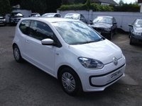 2012 VOLKSWAGEN UP 1.0 MOVE UP BLUEMOTION TECH 3 DR ZERO ROAD TAX £5000.00