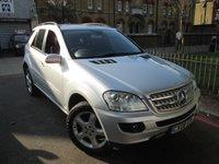 2008 MERCEDES-BENZ M CLASS 3.0 ML320 CDI SPORT 5d AUTO 222 BHP £12995.00