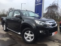 USED 2014 14 ISUZU D-MAX 2.5 TD UTAH DCB 1d AUTO 164 BHP FSH - Full Black Leather