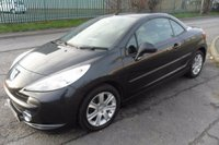 USED 2008 08 PEUGEOT 207 1.6 SPORT COUPE CABRIOLET 2d 118 BHP 69000 MILES 1 OWNER 2008 PLATE
