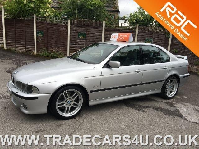 2001 BMW 5 SERIES VERY RARE E39