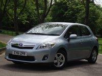 2011 TOYOTA AURIS 1.8 T4 5d AUTO 136 BHP £8475.00
