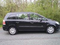 2007 VAUXHALL ZAFIRA 1.6 LIFE 16V 5d 105 BHP £2786.00
