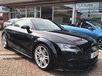 2011 AUDI TT 2.0 TDI QUATTRO S LINE BLACK EDITION 2d 168 BHP £15495.00