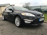 USED 2013 13 FORD MONDEO 2.0 ZETEC BUSINESS EDITION TDCI 5d 161 BHP NAV
