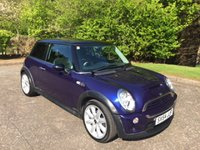 2004 MINI HATCH COOPER 1.6 COOPER S 3d 168 BHP £3750.00