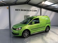 USED 2014 14 VOLKSWAGEN CADDY 1.6 C20 TDI HIGHLINE 1d 101 BHP SATNAV, BLUETOOTH, PARK ASSIST