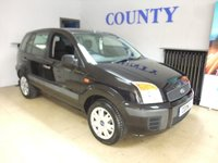 2008 FORD FUSION 1.4TDCI STYLE CLIMATE 5d 68 BHP £3995.00