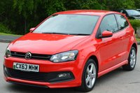 2013 VOLKSWAGEN POLO 1.2 R-LINE STYLE AC 3d 69 BHP £6995.00