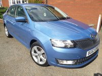 2013 SKODA RAPID 1.6 ELEGANCE GREENTECH TDI CR 5d 104 BHP Bluetooth, Optical Parking Sensors £9378.00