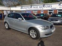 2007 BMW 1 SERIES 2.0 120D SE 5d 175 BHP £6695.00