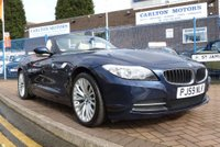 "USED 2009 59 BMW Z4 2.5 Z4 SDRIVE23I ROADSTER AUTO 201 BHP £6K OPTIONS ~ FULL SERVICE HISTORY ~ SPORT AUTO TRANSMISSION ~ 18"" ALLOYS ~ FULL EXTENDED CREAM LEATHER"