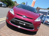 USED 2011 11 FORD FIESTA 1.4 TITANIUM TDCI 3d  ONLY £20 ROAD TAX ~ BLUETOOTH ~ CRUISE CONTROL ~ VOICE ACTIVATION ~ CLIMATE CONTROL ~ PRIVACY GLASS ~