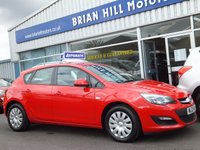 2013 VAUXHALL ASTRA 1.6 EXCLUSIV 5d AUTOMATIC £7495.00